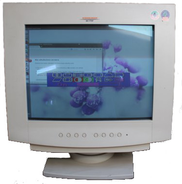 Sprzedam używany, 17 calowy monitor Highscreen MS-1795P w bardzo dobrym stanie. Cena wynosi 50 zł.