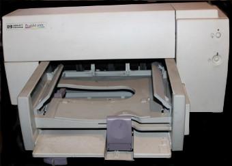Sprzedam uzywaną drukarkę HP DeskJet 690C za 35 zł. Urządzenie idealne jako dawca części zamiennych